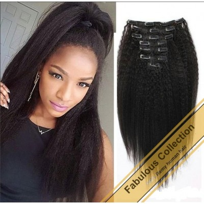 Clip-in Afro Kinky Straight BCN