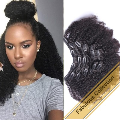 Clip-in Afro Kinky Curly BCN