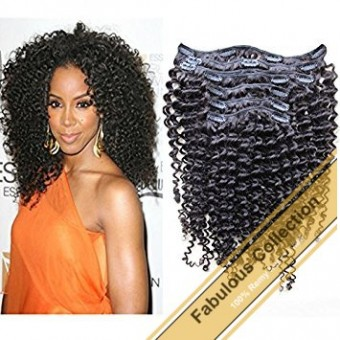 Clip-in Weave Kinky Curly BCN