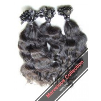 Wax extensions - natural curly MC